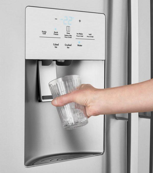 fridge water connections set up installation brisbane