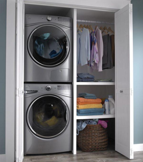 washing machine and dryer stacking installation brisbane